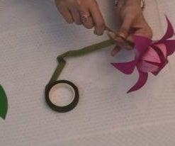 JK ARTS - HOW TO MAKE PAPER FLOWER