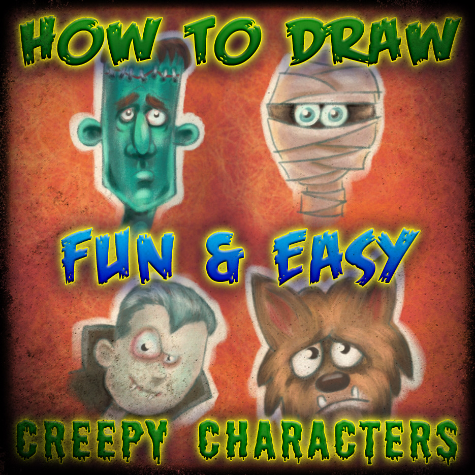 Picture of Easy to Draw Halloween Characters