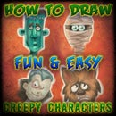 Easy to Draw Halloween Characters