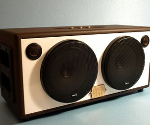 DIY Bluetooth Boombox Speaker | HOW TO
