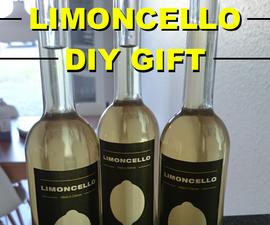 Limoncello DIY Gift