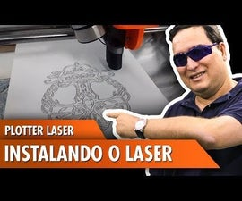 Laser Plotter: Installing the Laser