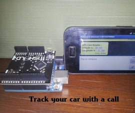 GPS car tracking device using Arduino and smartphone