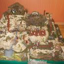Christmas Nativity village scene