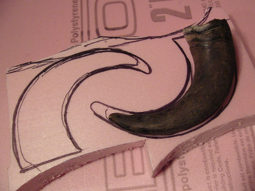 Picture of Creating the Horns