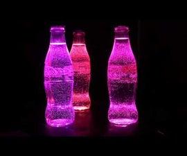 Arduino & Neopixel Coke Bottle Party Light
