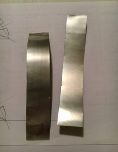 Prepare the Metal for the Cookie Cutter
