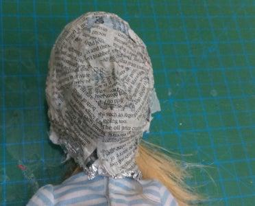 Making Paper Mask Part 2