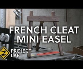 French Cleat Mini Easel