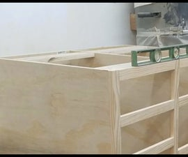 Make and Install Your Own Cabinet Levelers