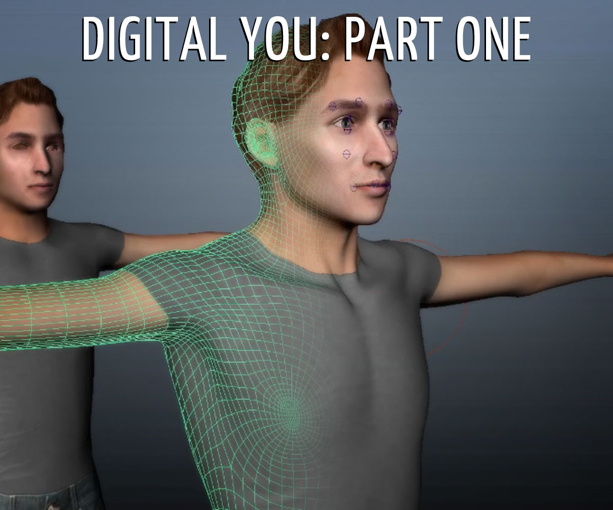 Picture of Digital You #1: Create a 3D You in Under an Hour!