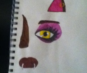How to Draw the Face of Clawdeen Wolf From Monster High