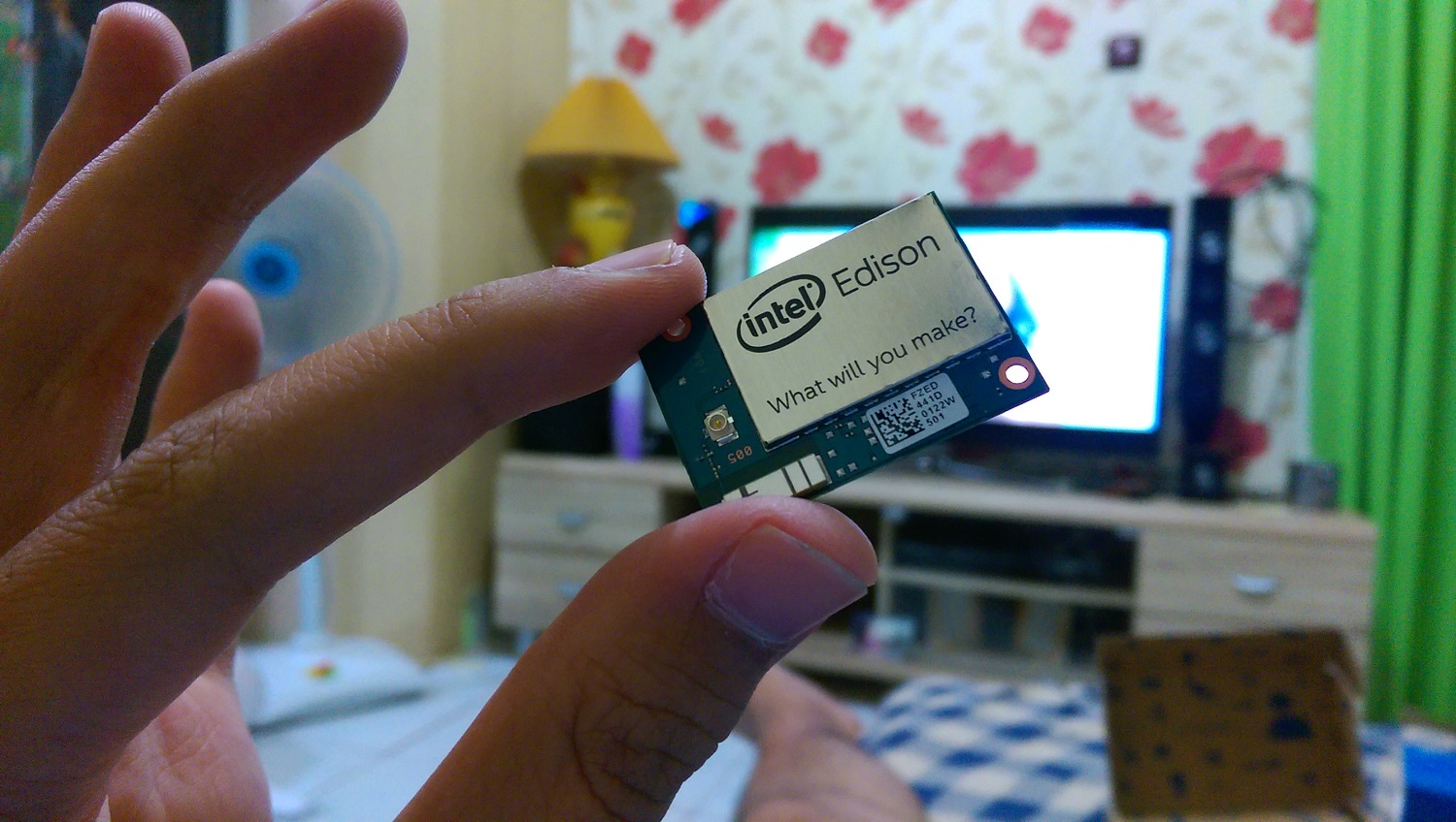 Picture of Intel Edison Simple Distance Sensor With Grove LED Bar Indicator and Buzzer