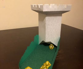 Pop-Up Dice Tower