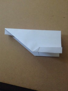 Fold End of Wings Up for Ballence