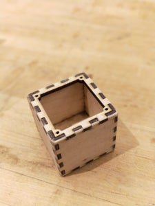 Cube Cutting and Assembly