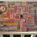Bailey's Freshman Year Word Collage