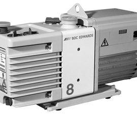 Repairing/Cleaning/Unsiezing Edwards RV8 Vacuum Pump