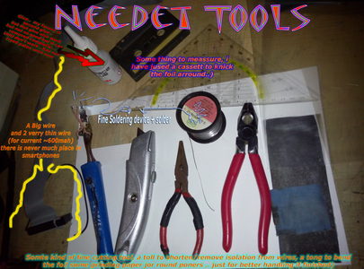 The Required Tools and the Circuit..