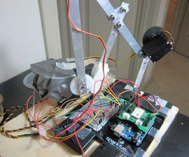 Bluetooth+Infrared Controlled Robotic Arm