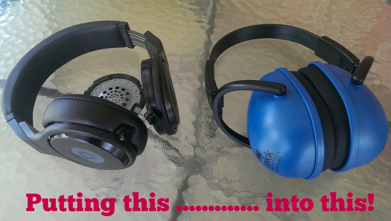 Picture of Audiophile Mowing Earmuffs
