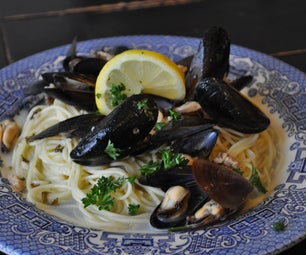 Mariners Mussels (Clams, Mussles & Angel Hair)