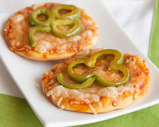 Shamrock Pizza Bites