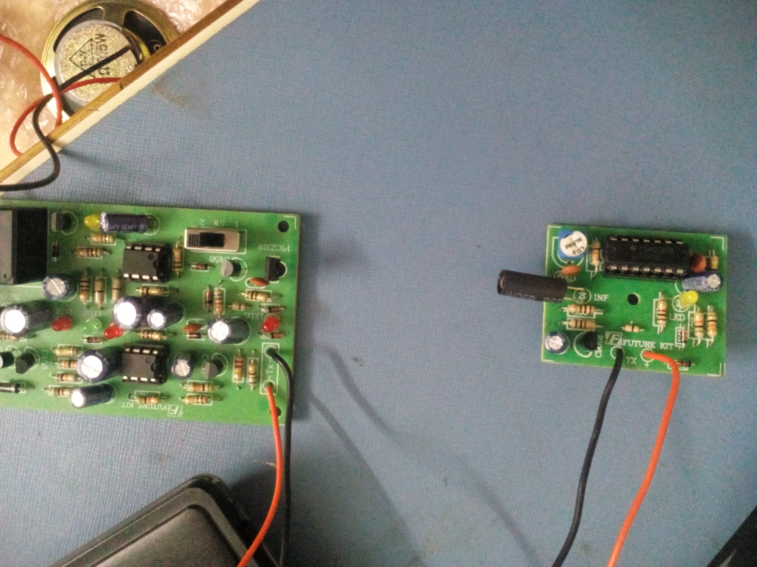 Picture of Receiver and Control