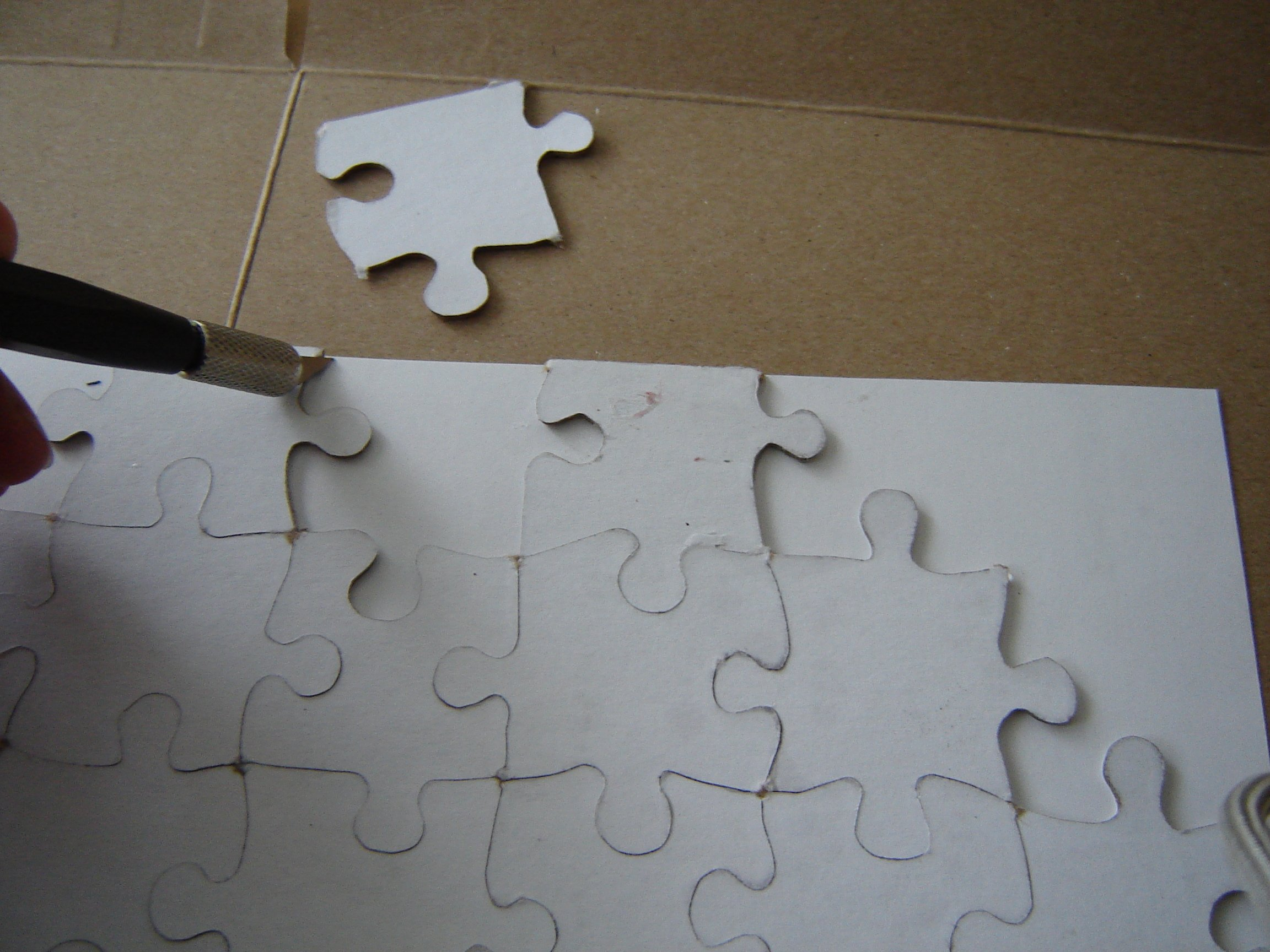 Picture of Cut Out Puzzle Shape