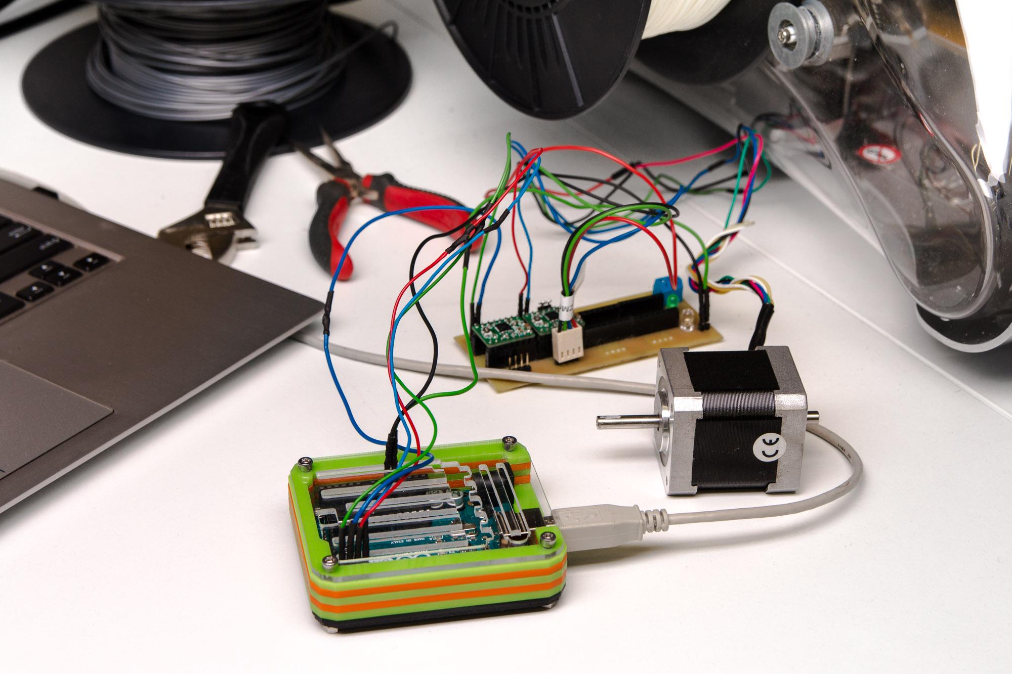 Picture of Plexiglass Arduino Case