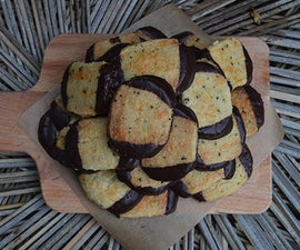 Double Dipped Chocolate Tea Cookies