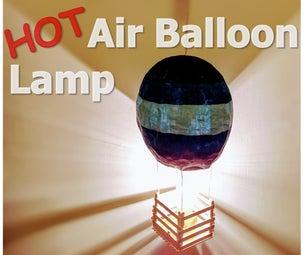 Hot Air Baloon Lamp