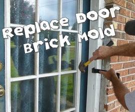 How to Replace Brick Mold Around Door