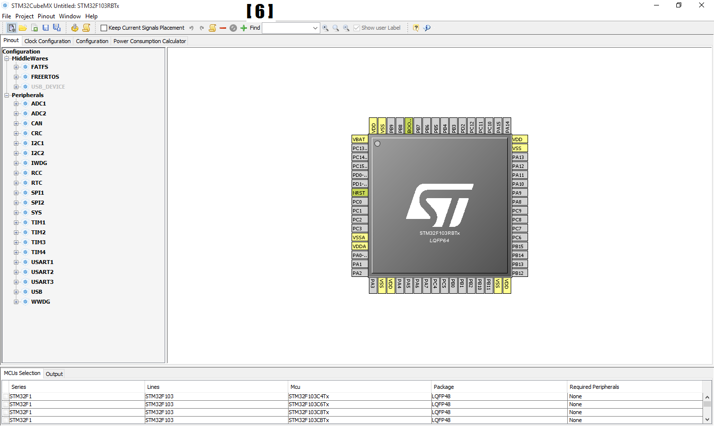 Picture of Step 1.1: Creating Project Using STM32CubeMX