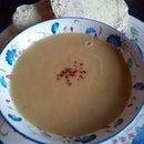 Spicey parsnip soup