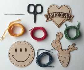 Lasercut Leather Patches