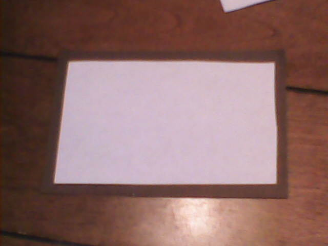 Picture of Cutting the Right Size Paper.
