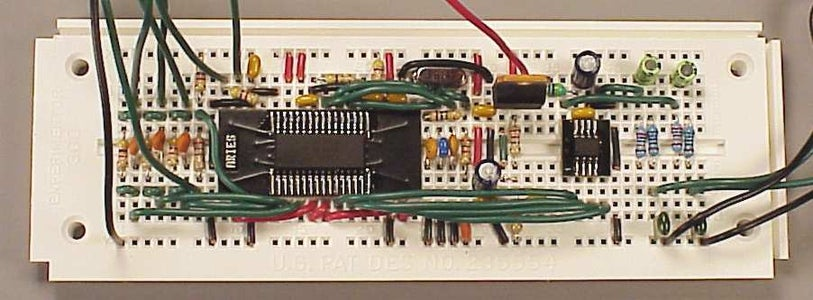 Building a Circuit on the Breadboard