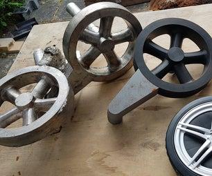 Cast BBQ Wheels