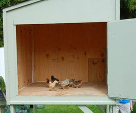 Chicken Coop... Big/Cheap/Stong