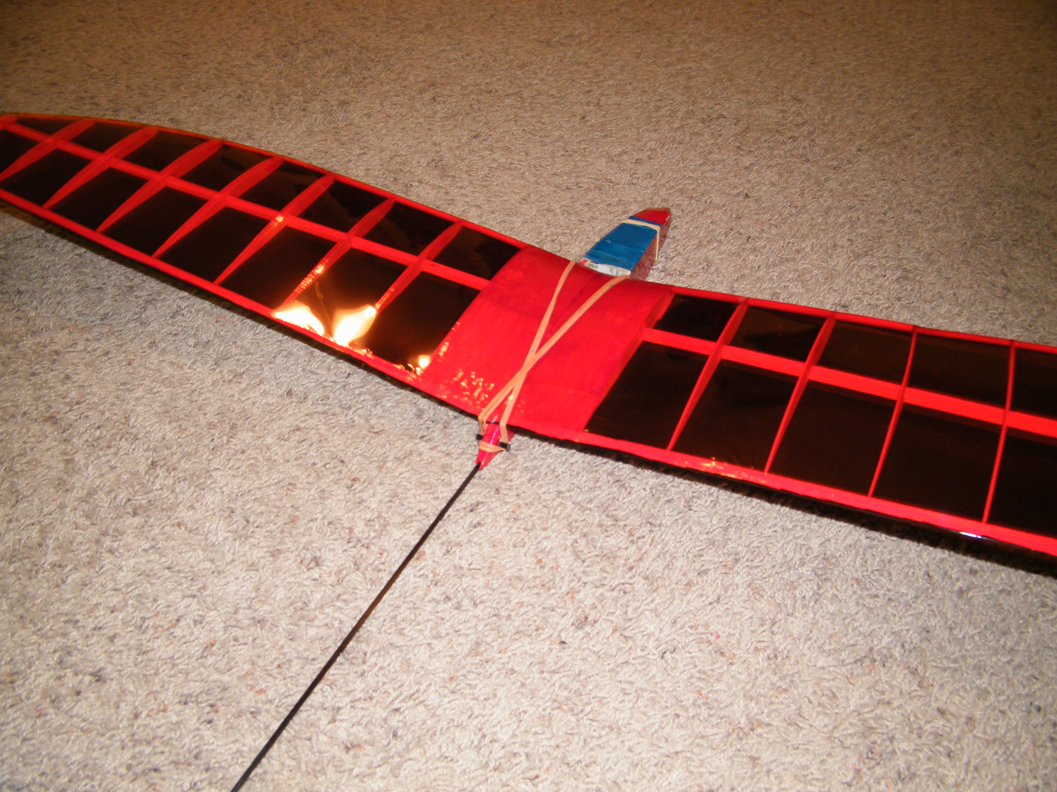 Picture of Ultralight RC Glider From Scrap