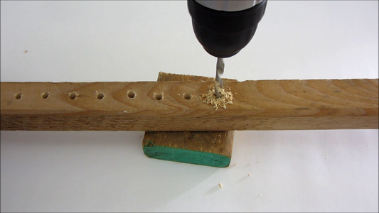 Cut and Drill the Camera Support Bar