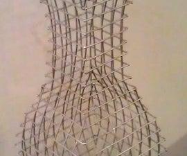 Wire Mesh Vase