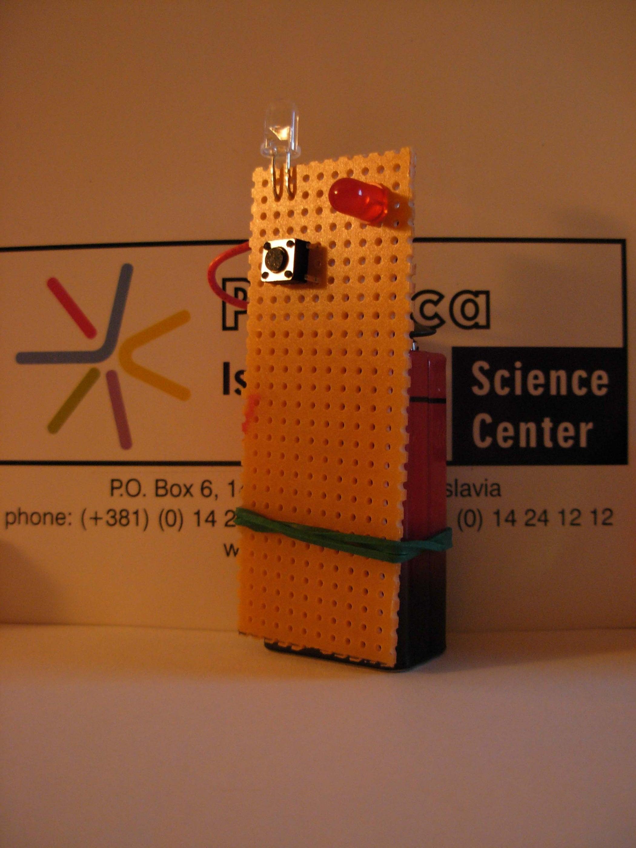 Ir Detector 8 Steps With Pictures Infraredtransmittercircuitlabeledonbreadboardjpg