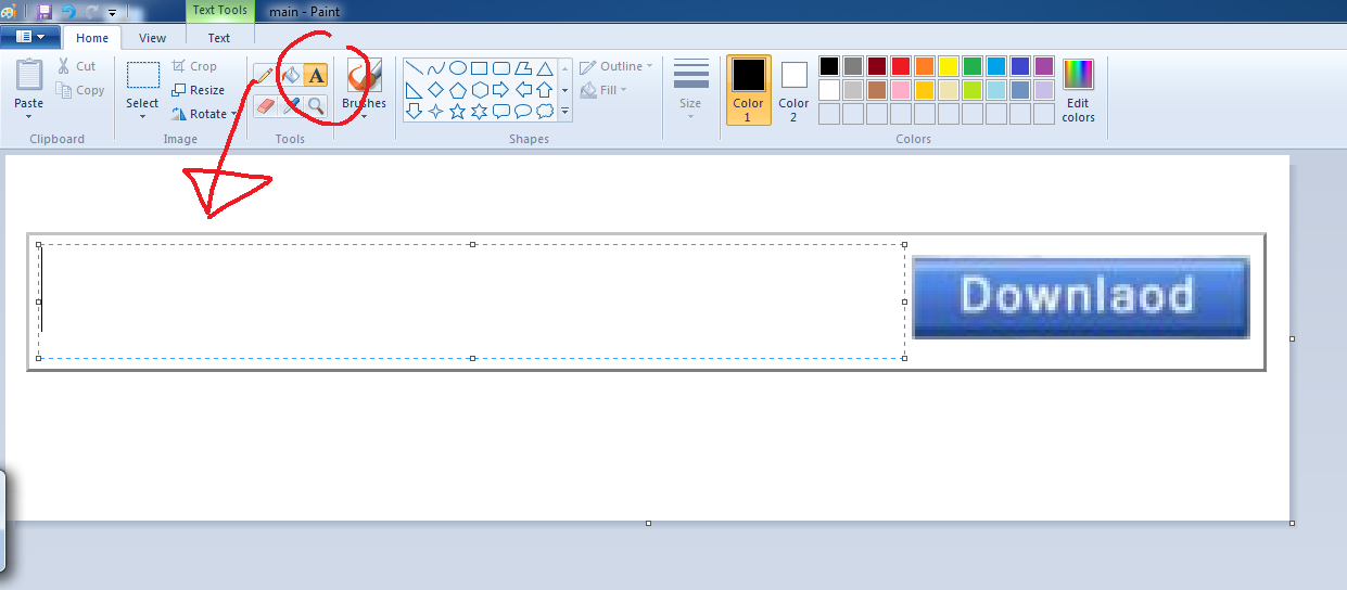 Picture of Adding Text