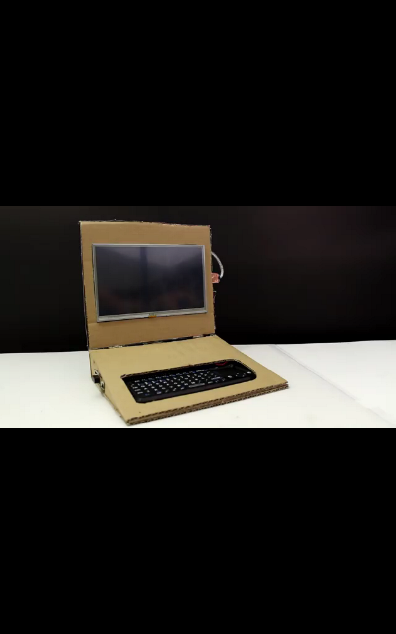 Picture of Raspberry Pi Notebook Under 100$