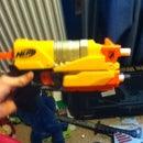 Air Soft Made From Nerf Gun