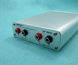LP-2010 AES17 1998 Switching Amplifier Low Pass(low-pass) Filter