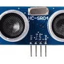 Ultrasonic Sensor With the Arduino Chip