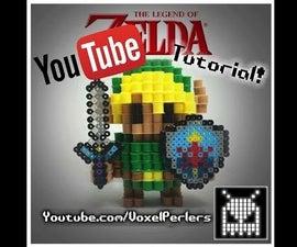 (Voxel) DIY 3D Link (Legend of Zelda)